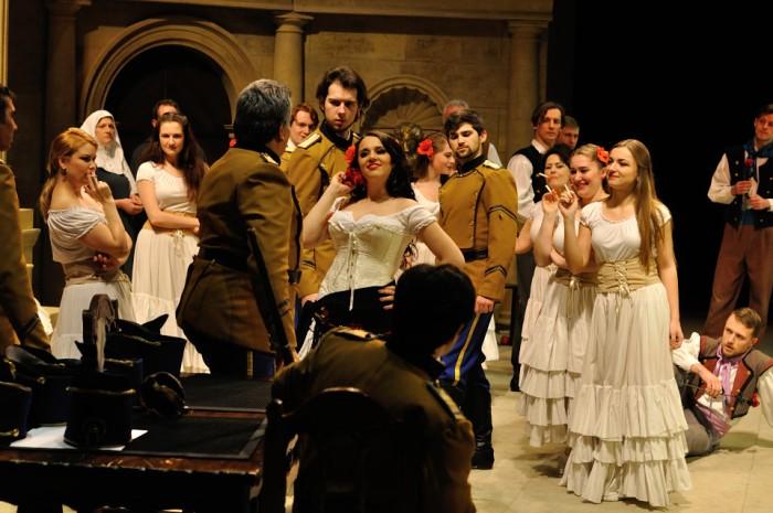 Liza Kadelnik shines in Ellen Kent's Carmen at Cork Opera House(22/4/16)