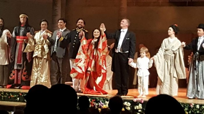 """Madama Butterfly"" at the National Concert Hall Dublin (18/2/17) review."