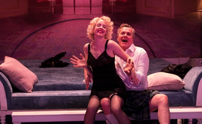 """Sex and the opera: """"Powder her face"""" tours Ireland in first Irish National Operaproduction."""